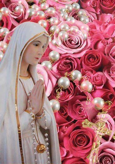 """Foto: Mittwoch, 13. August: Fatima-Tag - Tag der Rosa Mystica  Wie wir wissen, will das Herz Mariens gemeinsam mit dem Herzen Jesu verehrt werden. Deshalb tun wir gut daran, nicht nur die Herz-Jesu-Freitage, sondern auch die Fatima-Tage und die Herz-Mariä-Sühne-Samstage zu halten.  """"Mein Unbeflecktes Herz wird deine Zuflucht sein und ist der Weg, der dich zu Gott führen wird."""" (Muttergottes zu Lucia am 13. Juni 1917)  Nicht umsonst erschien im Jahre 1917 die allerseligste Jungfrau und Gottesmutter Maria den Hirtenkindern Lucia Santos, Francisco und Jacinta Marto und brachte ihnen eine Botschaft vom Himmel.  So verlangt die Gottesmutter von uns drei Dinge, die von allergrößter Bedeutung für unser ewiges Seelenheil sind:  1. Das tägliche Rosenkranzgebet.  2. Sühne und Buße für die Sünder.  3. Die Andacht zum Unbefleckten Herzen Mariens und die Weihe an dieses ihr Herz.  Neben dem täglichen Rosenkranzgebet, der Sühne und Buße, dem Besuch der hl. Messe an den Fatima-Tagen - so es die Zeit erlaubt - hat Maria drei hauptsächliche Übungen verlangt:  1. Ihr zu Ehren soll jeder erste Samstag im Monat als Herz-Mariä-Sühne-Samstag gefeiert werden.  2. An fünf aufeinanderfolgenden ersten Monatssamstagen im besonderen (Beginn jederzeit möglich).  3. Die Weihe an ihr Unbeflecktes Herz.  In diesem Zusammenhang seien jene Worte erwähnt, die Maria an Jacinta Marto kurz vor deren Tod richtete: """"Es kommen mehr Leute in die Hölle, weil sie Sünden des Fleisches begehen, als aus irgend einem anderen Grund.""""  Im amtlichen Handbuch der Fatimapilger teilte der Bischof von Leira am 13. Mai 1939 über die Feier der ersten Monatssamstage zu Ehren des Unbefleckten Herzens Mariens mit: """"Maria hat sich in unseren Tagen gewürdigt, uns durch Schwester Lucia, der Seherin von Fatima, die Übung der ersten fünf Monatssamstage zu schenken, um dem Unbefleckten Herzen Mariens Sühne zu leisten für alle Schmähungen und Beleidigungen, die es von Seite undankbarer Menschen erfährt.""""  Es ist also ein Mittel der"""
